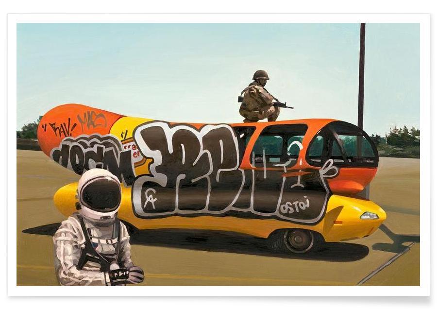 Astronautes, Wienermobile affiche