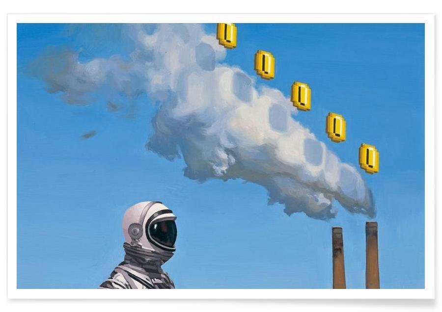 Astronautes, Level Up affiche
