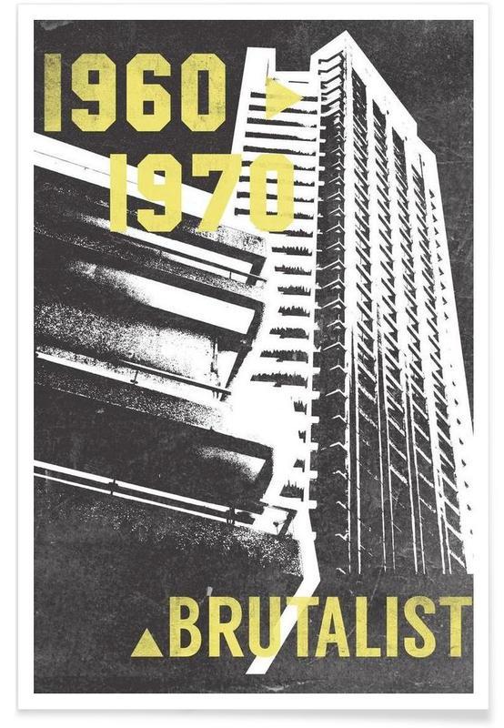Brutalist affiche