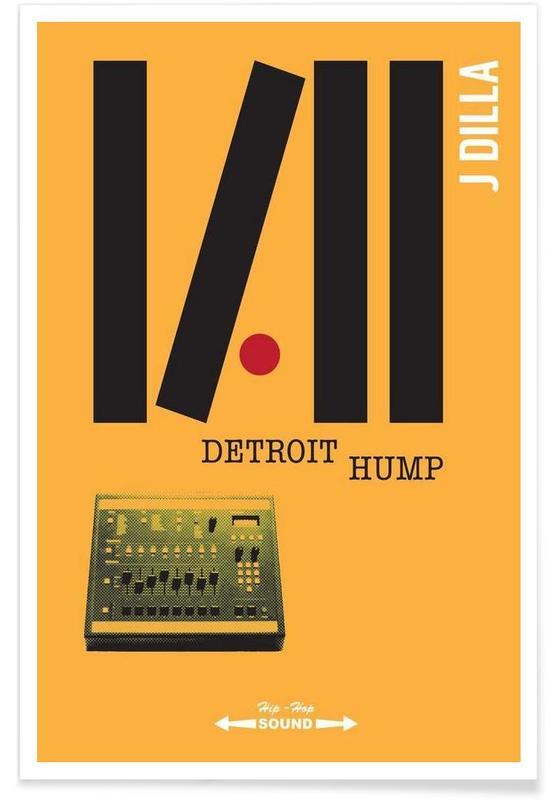 Detroit Hump Poster