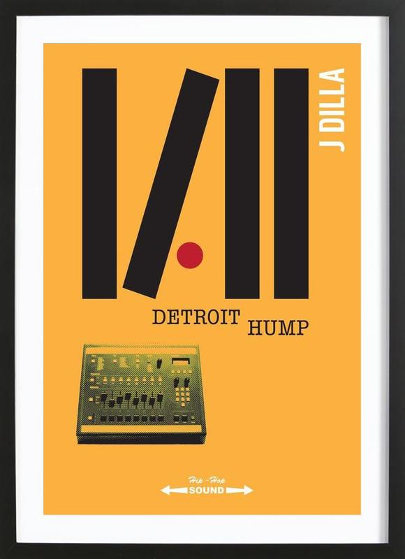 Detroit Hump Framed Print