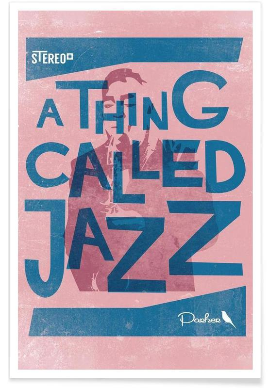 Thing called jazz Charlie Parker affiche