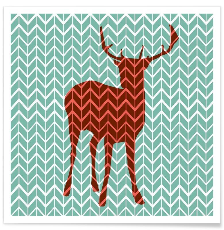 Hirsche, Oh Deer ! -Poster