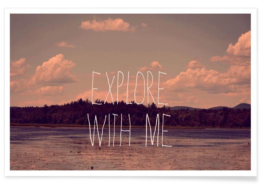 Citations et slogans, Explore with me affiche