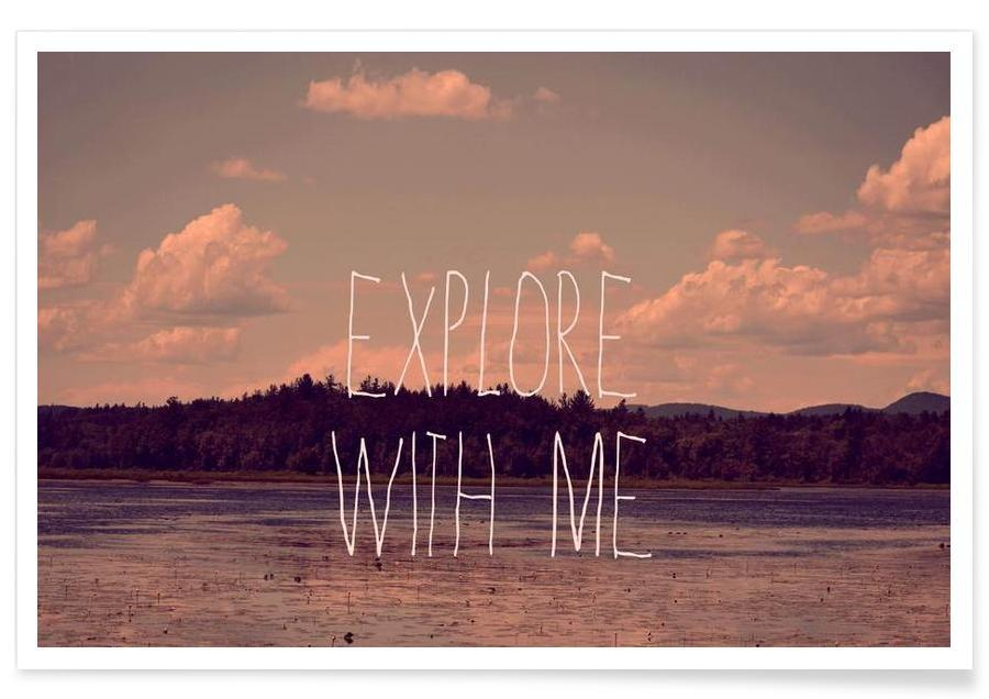Explore with me -Poster