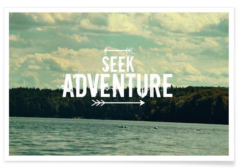 Motivation, Citations et slogans, Seek Adventure affiche