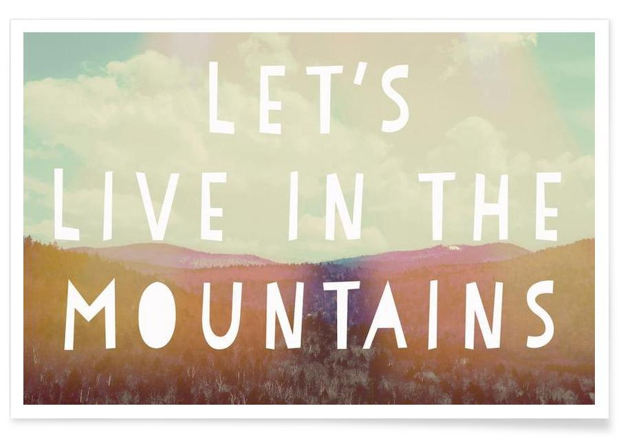 , Live in The Mountains affiche