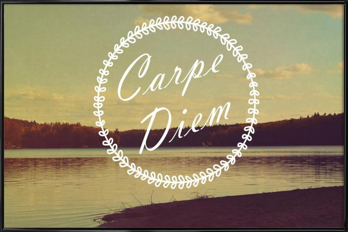 Carpe Diem Framed Poster
