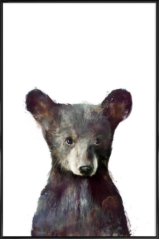Little Bear affiche encadrée