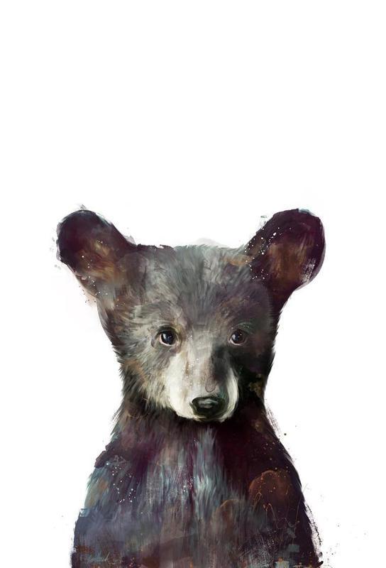 Little Bear tableau en verre