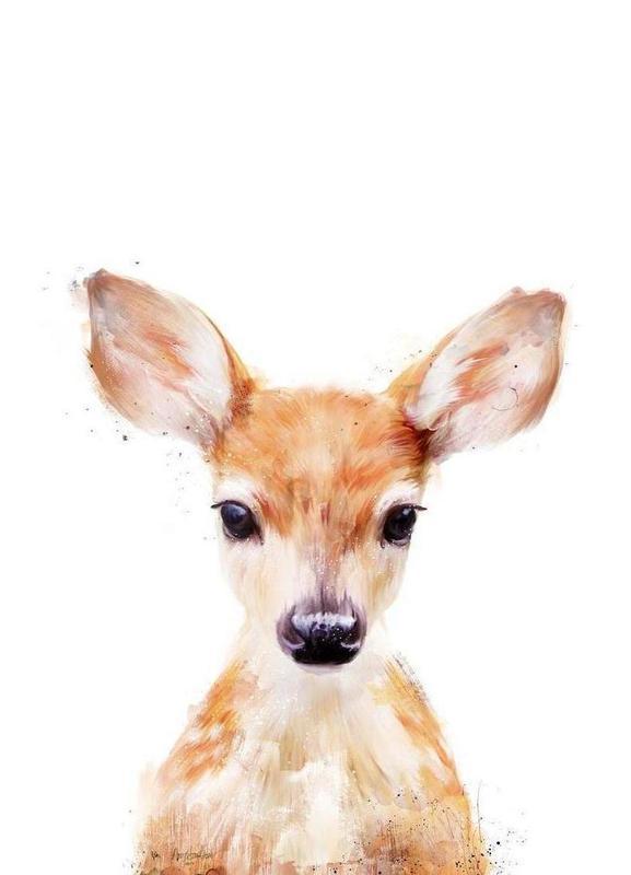 Little Deer canvas doek