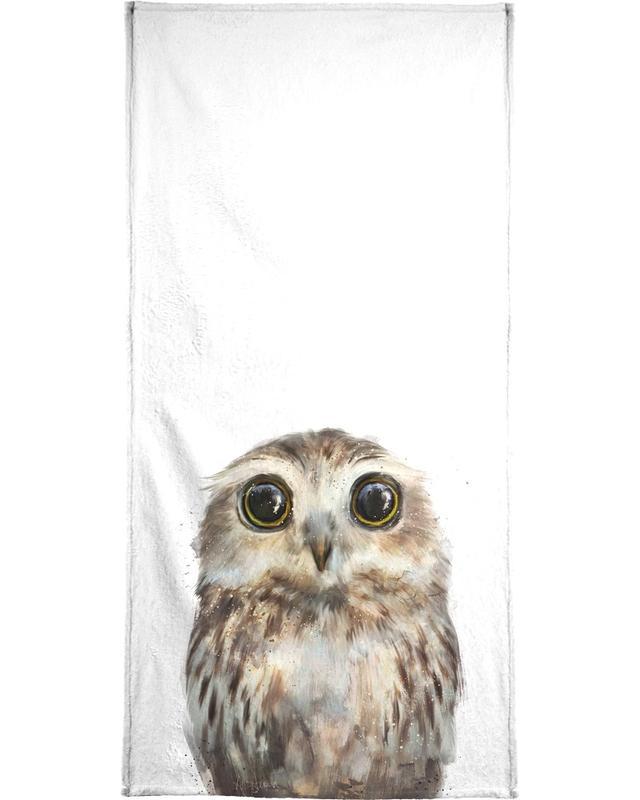 Little Owl Beach Towel