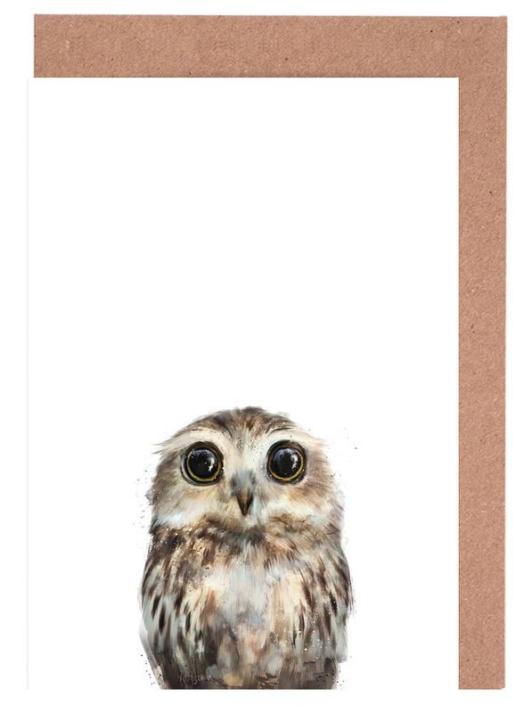 Little Owl cartes de vœux