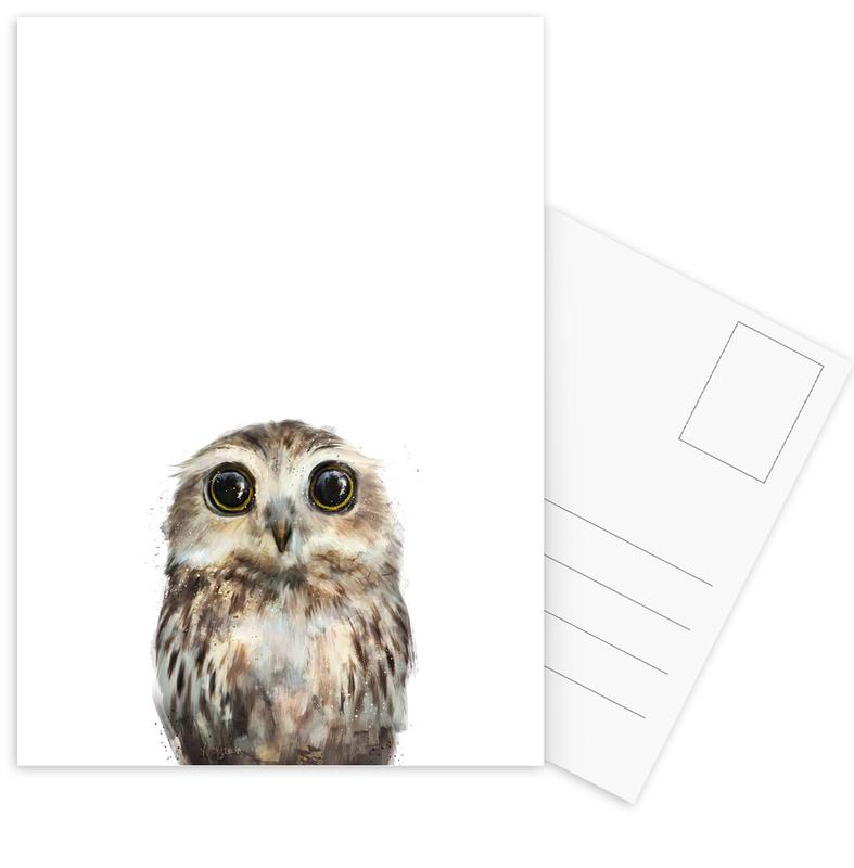 Little Owl Postcard Set