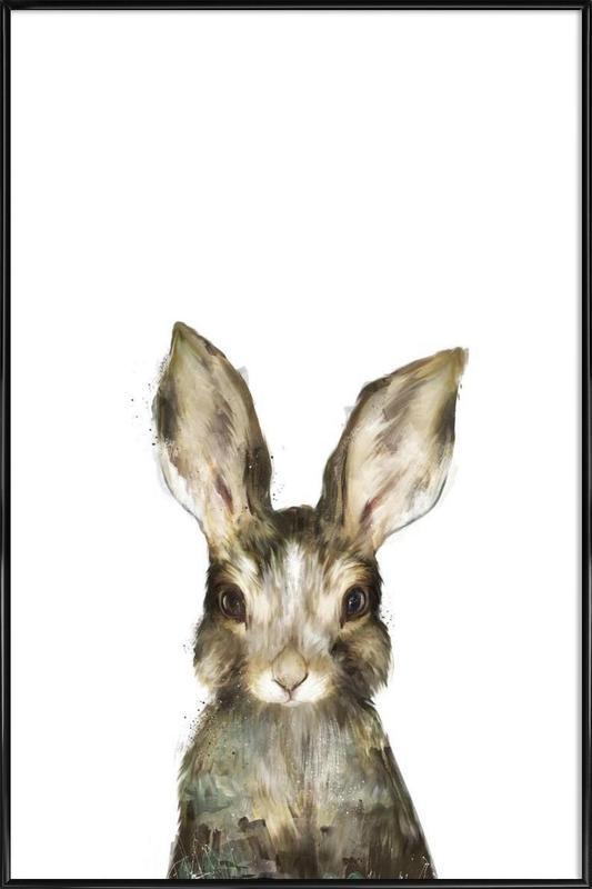 Little Rabbit ingelijste poster