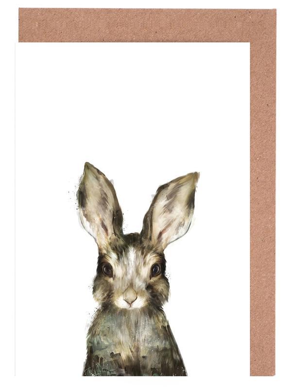 Little Rabbit -Grußkarten-Set
