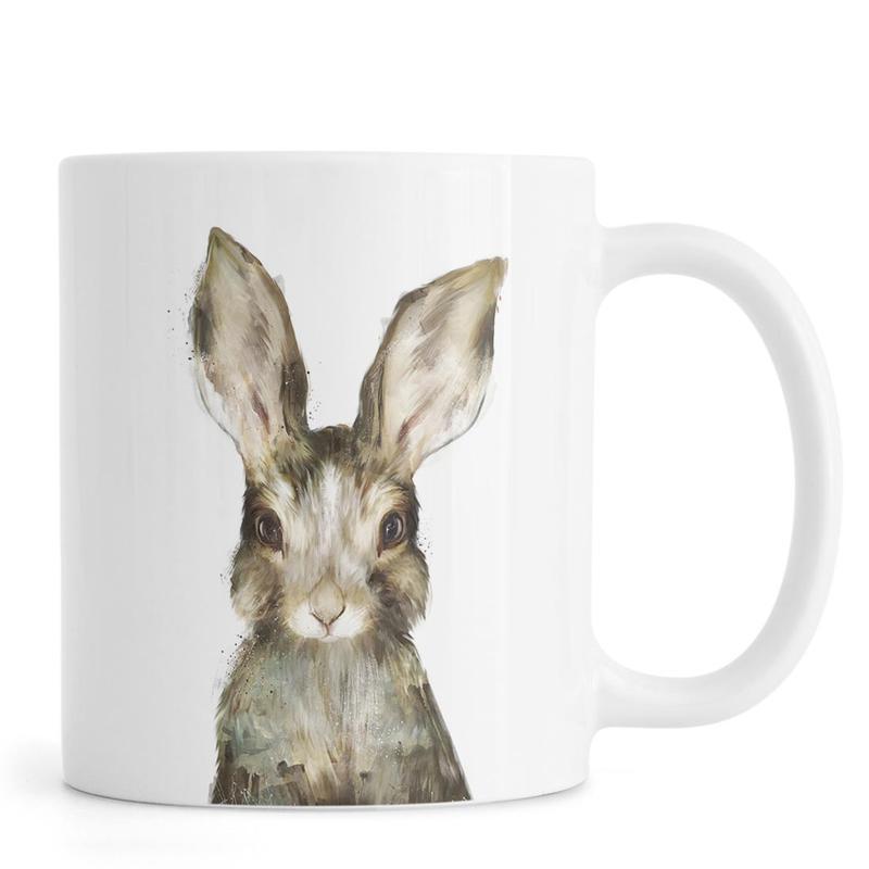 Kaninchen, Kinderzimmer & Kunst für Kinder, Little Rabbit -Tasse
