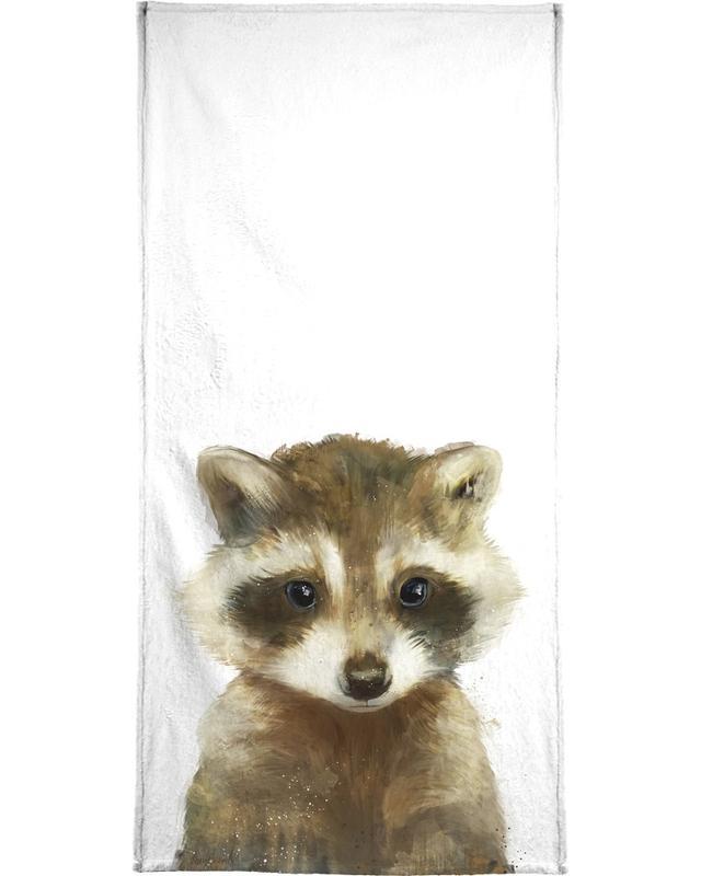 Little Raccoon -Handtuch