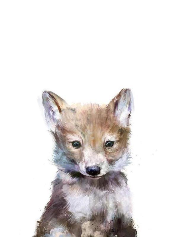 Little Wolf -Leinwandbild