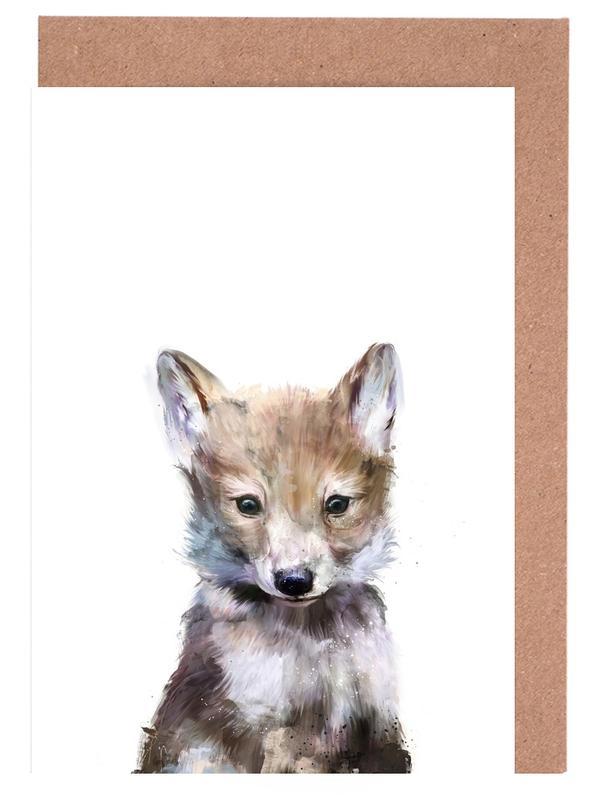 Little Wolf -Grußkarten-Set