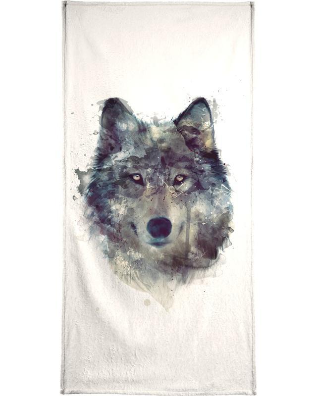 Wölfe, Persevere -Handtuch