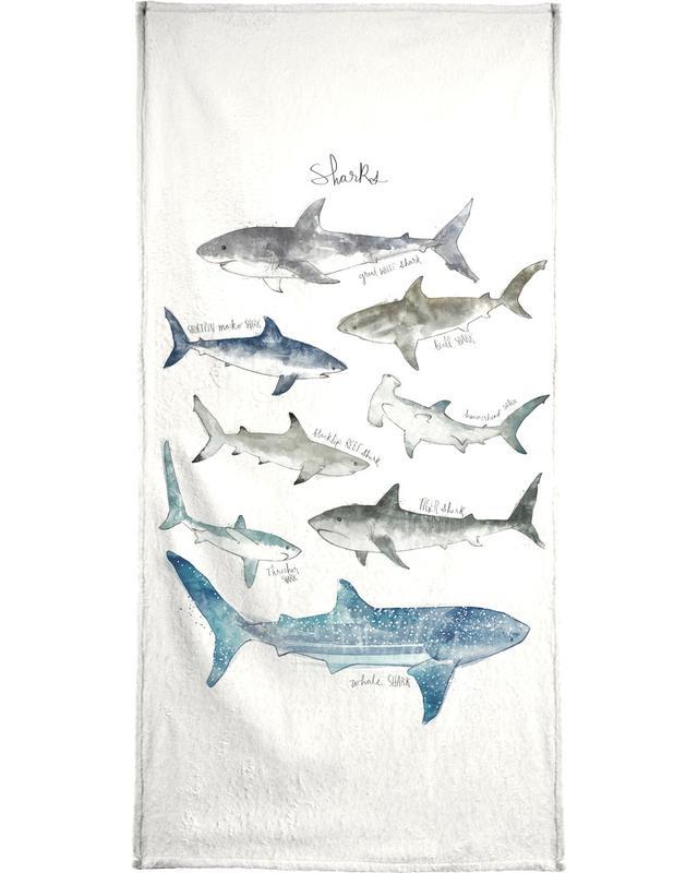 Sharks Beach Towel