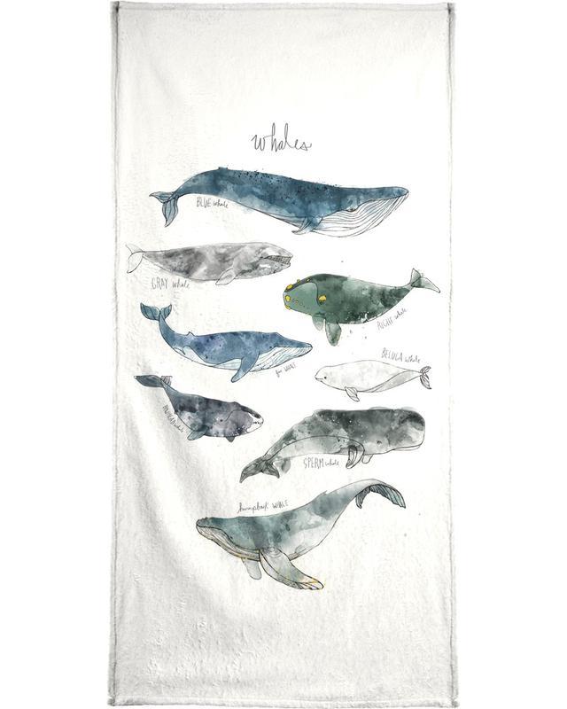 Whales Bath Towel