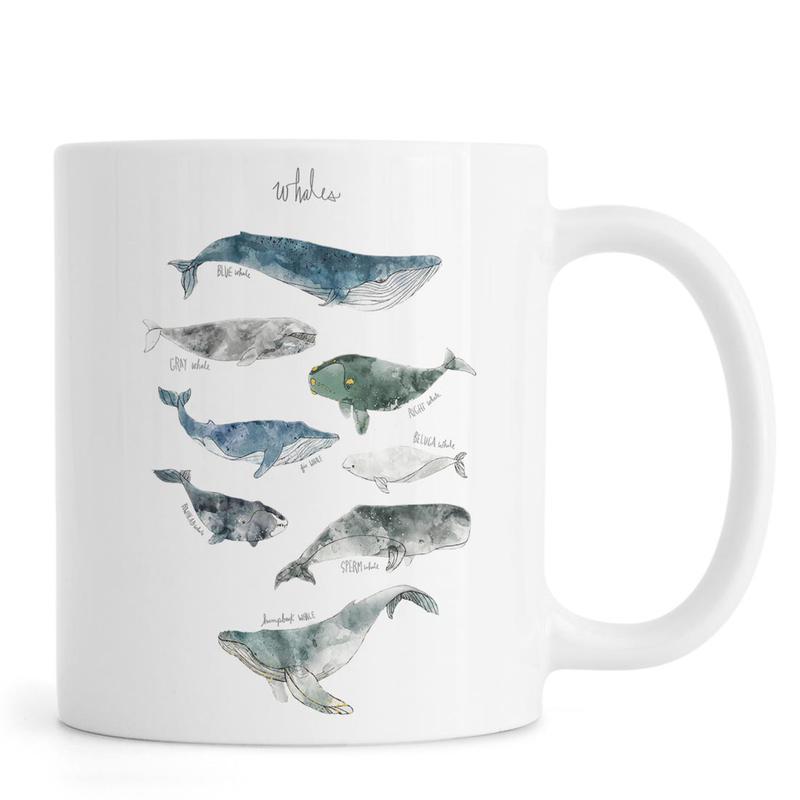 Whales -Tasse