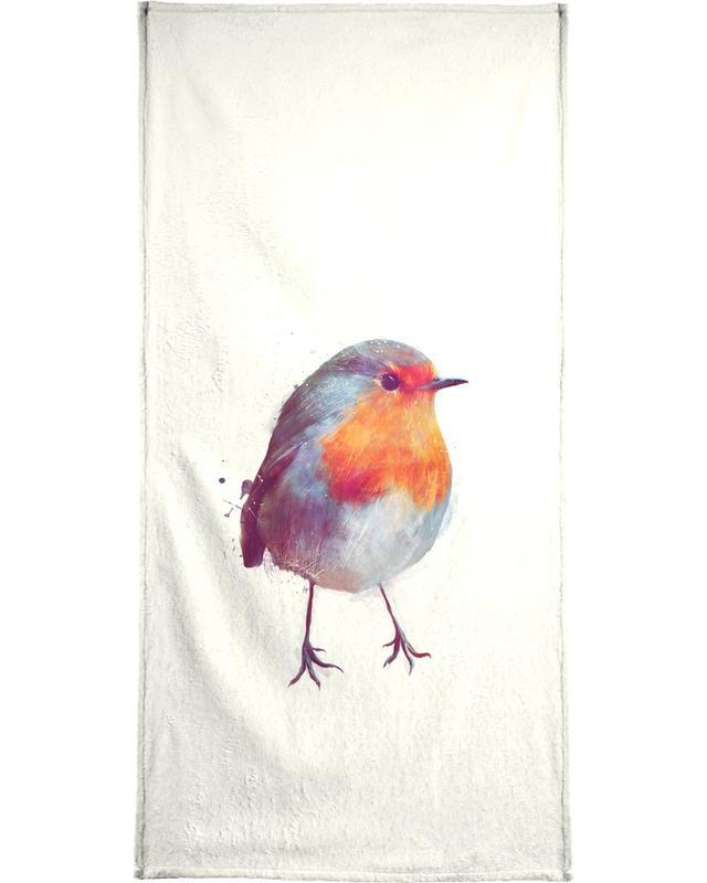 Winter Robin -Handtuch