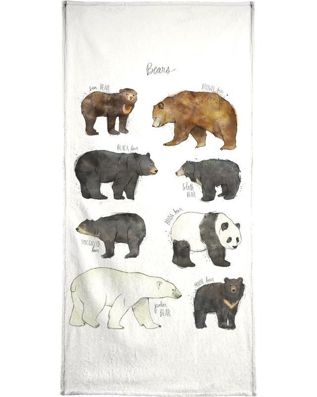 Beren, Kunst voor kinderen, Bears handdoek