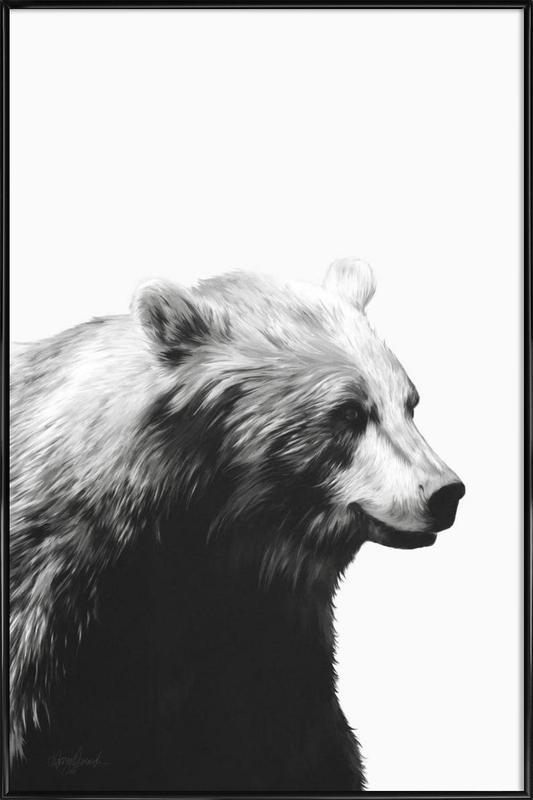 Calm Black and White Framed Poster