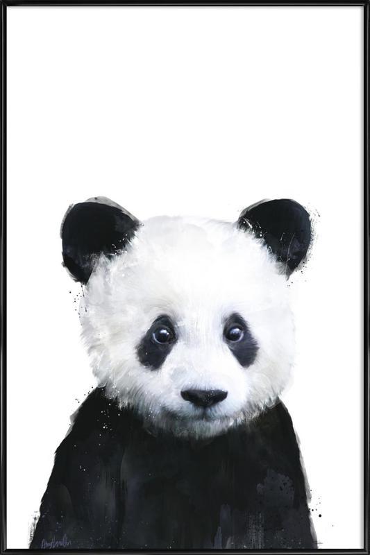 Little Panda affiche encadrée