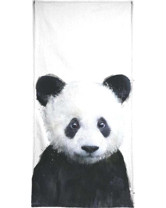Zwart en wit, Beren, Kunst voor kinderen, Little Panda handdoek