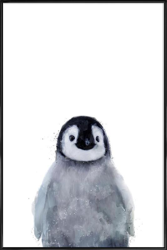 Little Penguin ingelijste poster