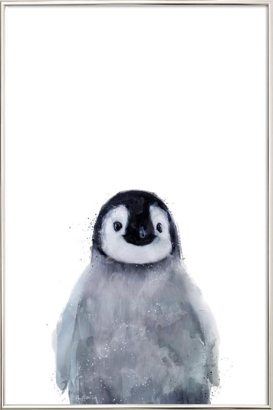 Little Penguin poster in aluminium lijst