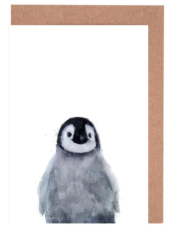 Little Penguin -Grußkarten-Set