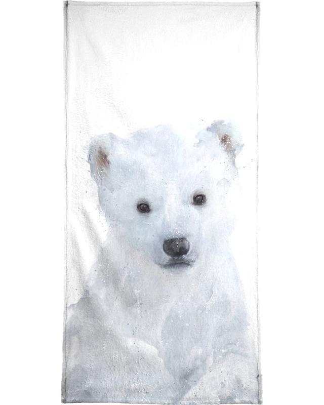 Little Polar Bear Bath Towel