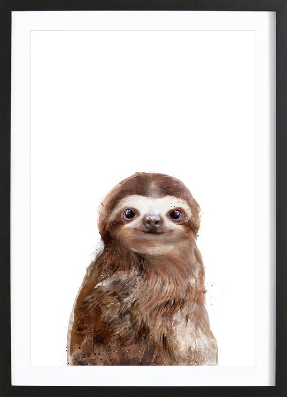 Little Sloth ingelijste print
