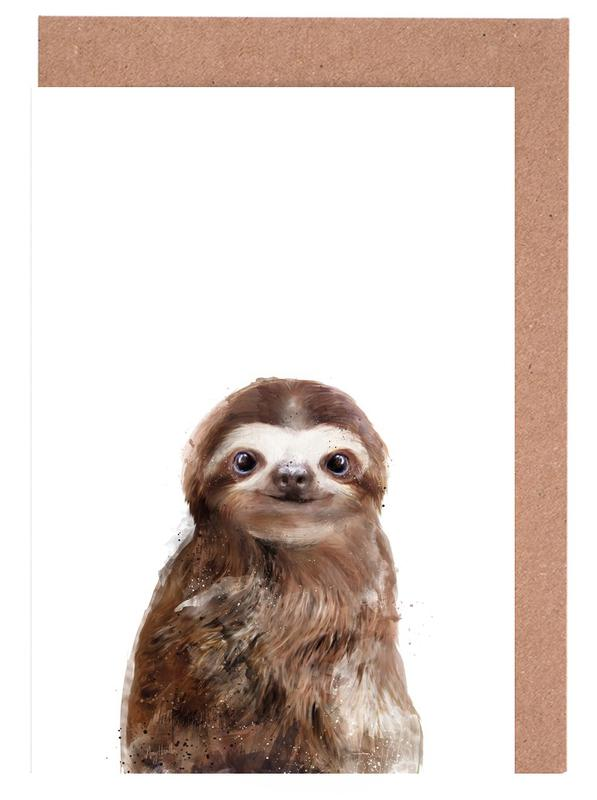 Little Sloth cartes de vœux