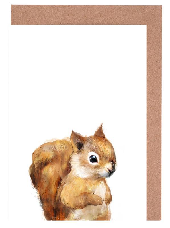 Little Squirrel cartes de vœux