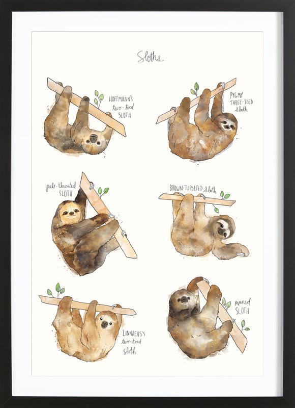 Sloths Framed Print