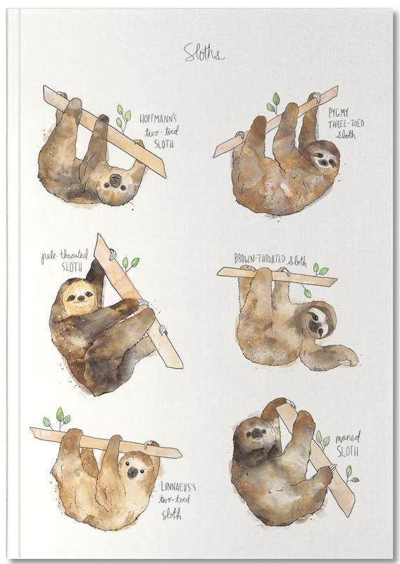 Paresseux, Art pour enfants, Sloths Notebook