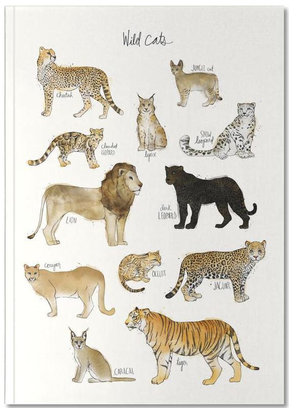 Wild Cats Notebook