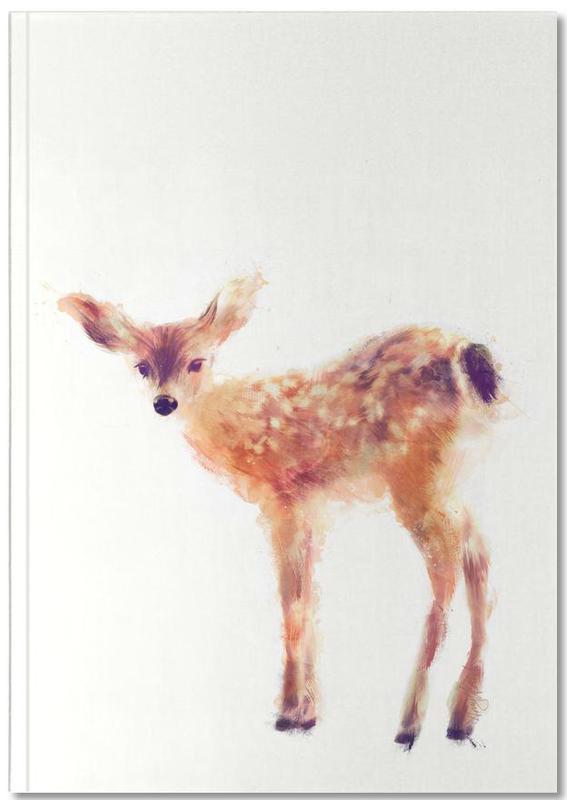 Cerfs, Art pour enfants, Fawn Notebook