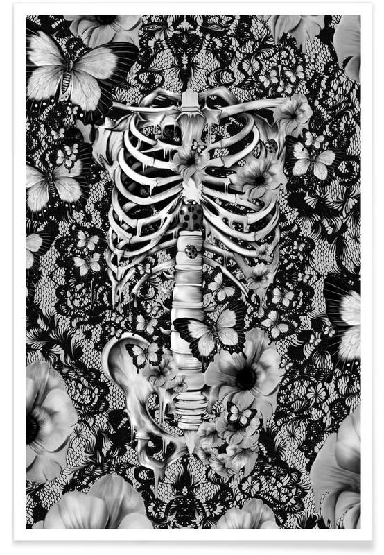 Skulls, Idiopathic Idiot Poster