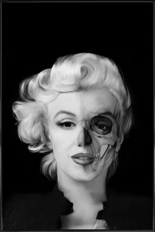 Dead Celebrities -Bild mit Kunststoffrahmen