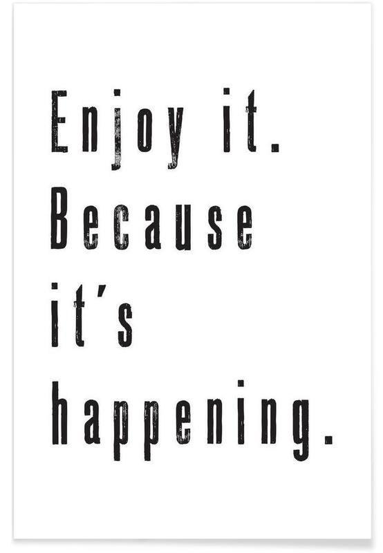 Enjoy it Poster
