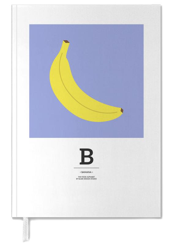 """The Food Alphabet"" - B like Banana Personal Planner"