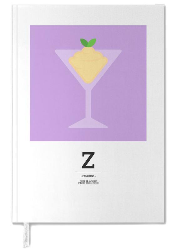 """""""The Food Alphabet"""" - Z like Zabaione -Terminplaner"""