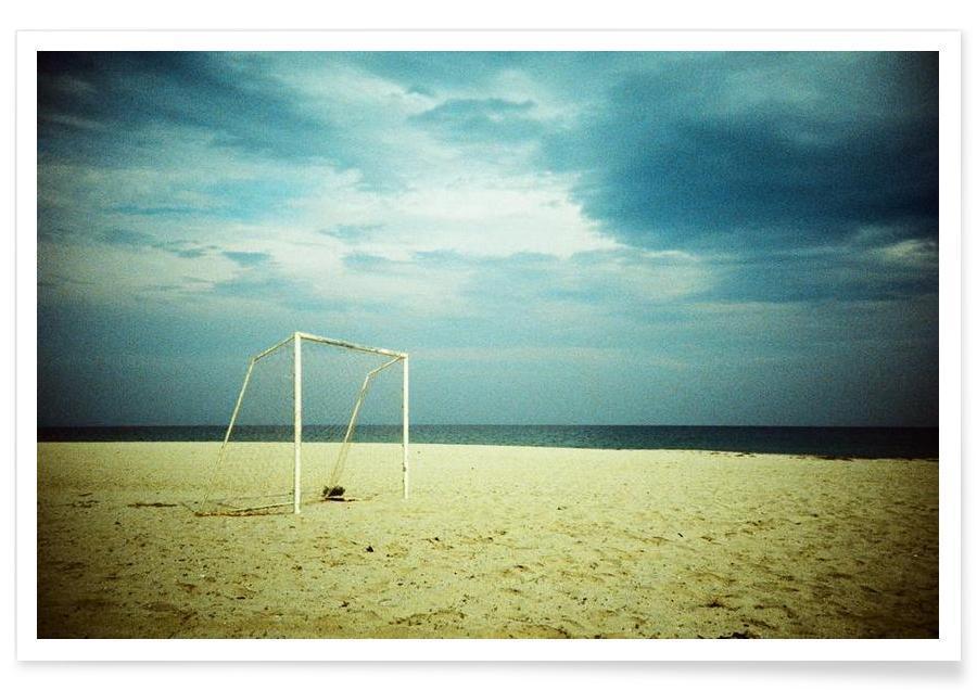 Stranden, Goal poster